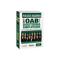 Passe agora oab 1 fase - doutrina simplificada - rideel -