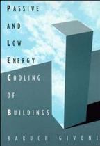 Passive low energy cooling of buildings - Jwe - john wiley