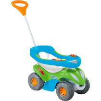 Passo a Passo Infantil Calesita Super Comfort Completo - 2 em 1 - Azul/Verde -