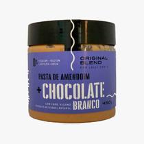 Pasta de Amendoim ao Chocolate Branco Vegano Original Blend 450g -