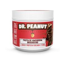 Pasta de Amendoim Dr Peanut Brigadeiro com Whey Protein 500g Zero Açúcar -