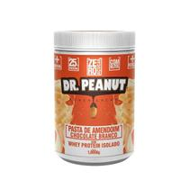 Pasta De Amendoim Dr Peanut Com Whey Protein Isolado Chocolate Branco - 1Kg - Dr. Peanut