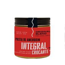 Pasta de Amendoim Integral Crocante Vegano Original Blend 450g -