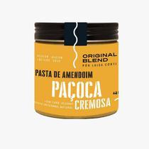 Pasta de Amendoim Paçoca Cremosa Vegano Original Blend 450g -