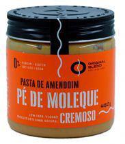 Pasta de Amendoim Pé de Moleque Cremoso Vegano Original Blend 450g -