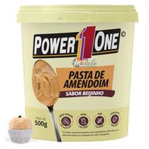 Pasta de Amendoim Power1One Beijinho 500g -