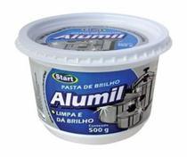 Pasta Limpa Aluminio Alumil (500 Gr) Limpa E Da Brilho - Start -