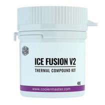 Pasta termica cooler master ice fusion v2 - 40 gramas - rg-icf-cwr3-gp -