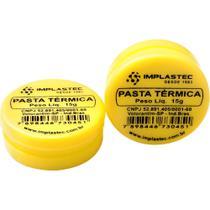 Pasta Térmica de Silicone Implastec Pote 15g -