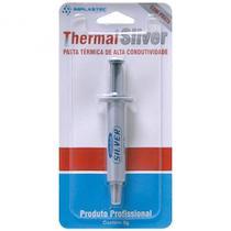 Pasta termica Prata thermal silver pote 5g implastec -