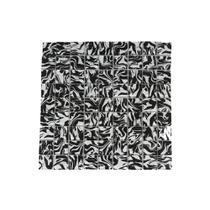 Pastilha Borda Bold Zebra Preto E Branco 30x30cm - Henry