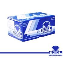 Pastilha de Freio Syl Dianteira para GM MONTANA 1.8 CONQUEST 2003-2012 -
