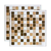 Pastilha de vidro Mescla Bolonha 30x30cm Royal Gres -