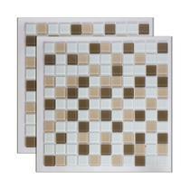 Pastilha de vidro Mescla Lanciano 30x30cm Royal Gres -