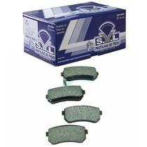 Pastilha freio traseira mando - cerato 09 a 13 / i30 09 a 12 / ix35 10 a 13 / picanto 04 a 13 / sportage 11 a 14 / tucson 10 a 15 - syl3273 -
