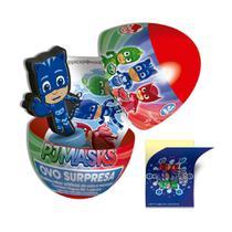 Pastilha PJ Masks Ovo Surpresa DTC Sabor Cola e Morango 9g -