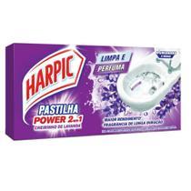 Pastilha Sanitaria Adesiva 9g Lavanda 1 UN Harpic -
