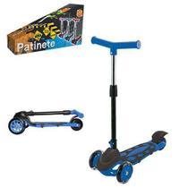 Patinete Dobrável Radical Power 3 Rodas Azul - Dm radical