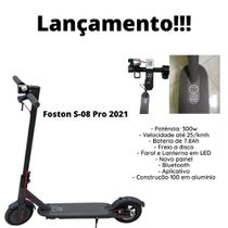 Patinete Elétrico Foston 2021 C / Painel Digital -