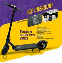 Patinete Elétrico Foston NEW S08 Pro 2021 Com Aplicativo -