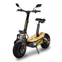 Patinete Elétrico Off-Road TD Monster 1600w Preto/Amarelo - Two Dogs