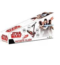 Patinete Flash Com Luz Star Wars Dobrável 3 Rodas Dtc 4433 -
