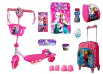 Patinete Frozen 2 com 10 itens - Ska Kids