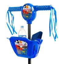 Patinete Infantil 3 Rodas Com Cestinha Música E Luz Radical - Arcani Toys