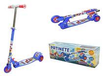 Patinete Infantil 3 Rodas Dobrável Ajustável Até 50kg - Dm Toys