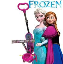 Patinete Infantil 3 Rodas Joaninha 2 em 1 frozen -