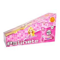 Patinete Infantil Com Cesta Rosa DMR5027 - Dm Toys -