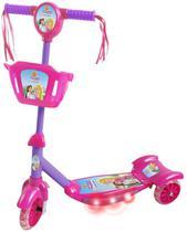Patinete Infantil Radical Com Luzes Som E Cestinha 3 Rodas - Dm radical