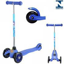 Patinete Infantil Sport Twist 3 Rodas Azul Freio Estabilidade - Belfix