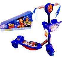 Patinete Infantil -Toy Story - Com Luzes - 3 Rodas - Aloa