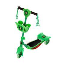 Patinete Para Crianças Ben 10 Scooter 3 Rodas Brinquedo - Zein