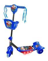 Patinete Radical Meninos Infantil Musical Com Cestinha - Dm Toys