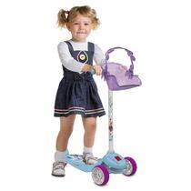 Patinete Skatenet Kid Frozen 2 - Bandeirante -