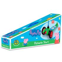 Patinete Start 3 Rodas Peppa Pig Dobrável Até 20kg Dtc -