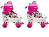 Patins 4 Rodas Infantil Xplast 4262 Pink -