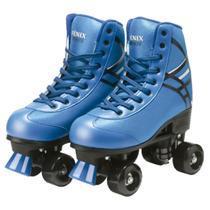Patins 4 Rodas Roller Ajustáveis RL -06 Azul - Fenix
