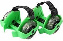 Patins Adaptado Para Tenis Esporte Com Rodas De Led Verde (SKT-11) - Braslu