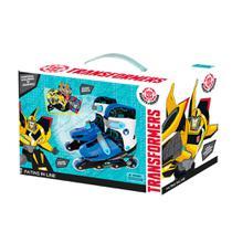 Patins Ajustável Transformers com Acessórios - Astro Toys -