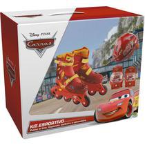 Patins Carros Disney Kit Esportivo 33 ao 36- DTC -