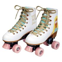 Patins Classico Barbie Edição Especial 60 anos 35/36 84529 - Fun -