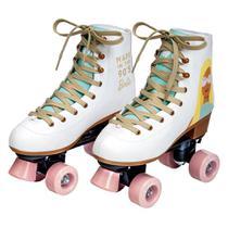 Patins Clássico - Edição Especial - Barbie 60 Anos - Fun - 33-34 -