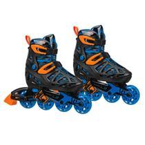 Patins Fila Inline Infantil Tracer Boy Rollerderby - M ( 32-36 ) -