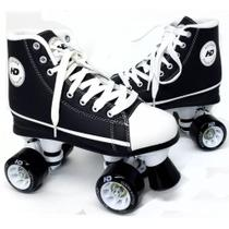 Patins HD Inline All Star Quad Preto - Hondar - Hd In Line