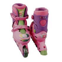 Patins In Line Ajustáveis - Tinker Bell Disney - Tamanho 29 a 32 - DTC -