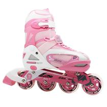 Patins In Line Ajustavel Winmax Rosa (30 33)
