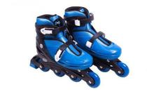 Patins Infantil In Line Fashion Rollers Bel M 33/36 Azul Escuro
